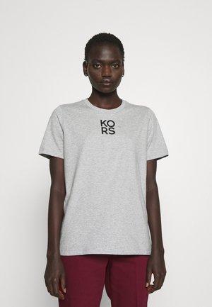 CLASSIC - Print T-shirt - pearl heather