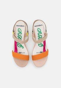 Wonders Green - Platform sandals - orange - 5