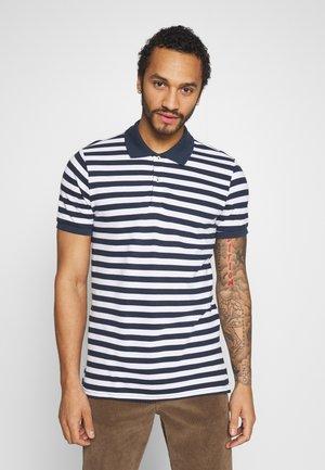 JORSTRIPED  - Polo shirt - navy blazer