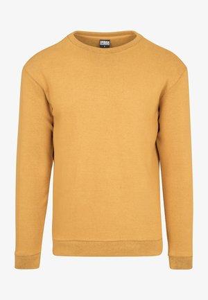 Sweater - mustard/black