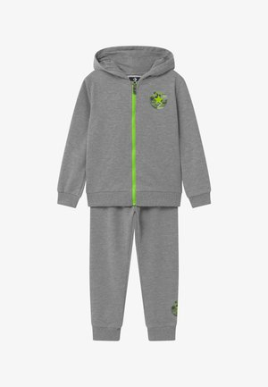 DINO FULL ZIP SET - Tracksuit - grey heather