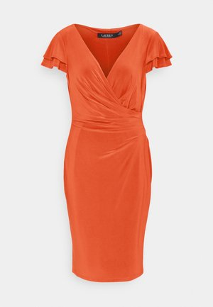 PICA SHORT SLEEVE DAY DRESS - Robe en jersey - bright hibiscus