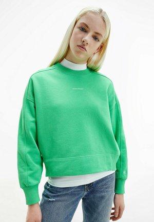 Sweatshirt - acid green