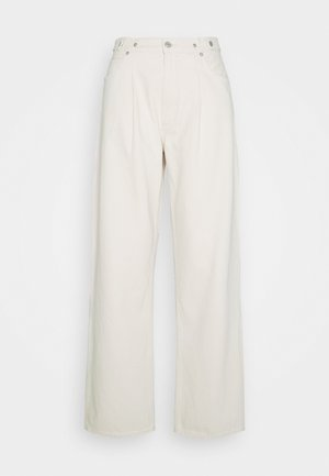 BAGGY TAB - Relaxed fit jeans - paper