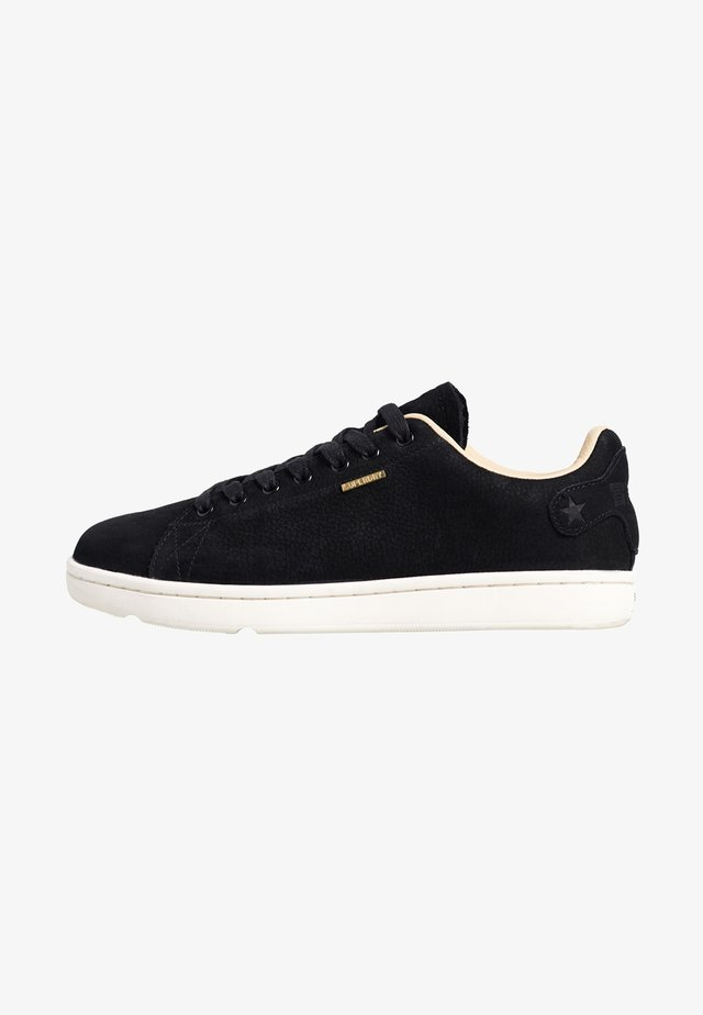 PREMIUM VINTAGE TENNIS TRAINER - Baskets basses - black
