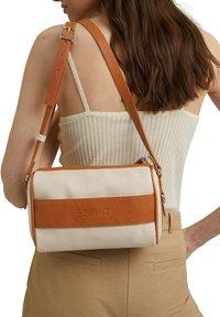 Esprit - Across body bag - beige, orange - 1