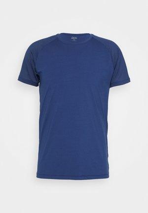 STRUCTURED TEE - Camiseta básica - steady blue