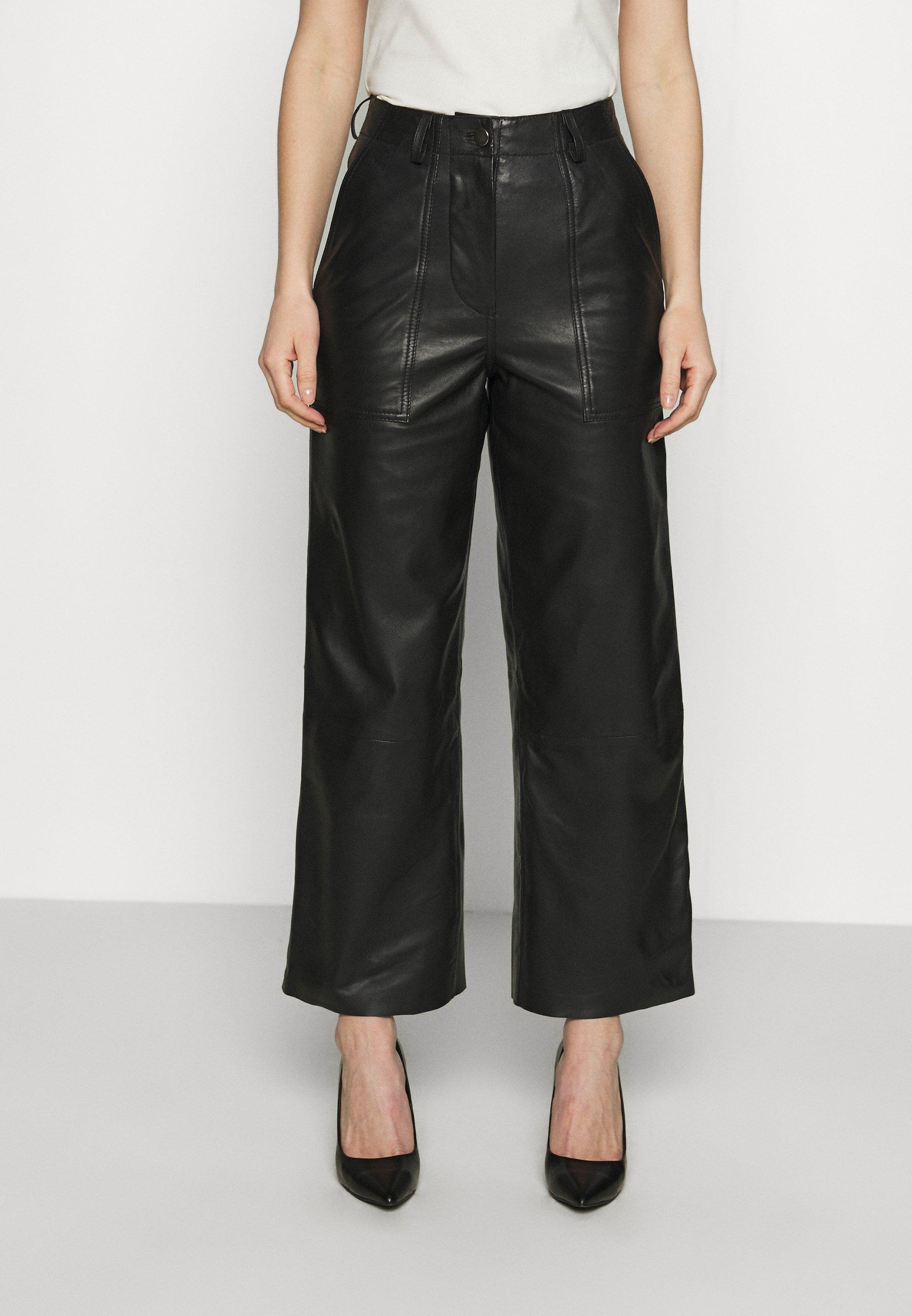 Damen PRESLEY PANTS - Lederhose