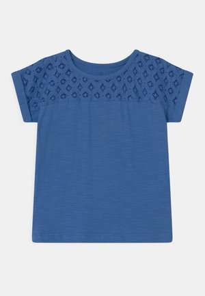 SMALL GIRLS - Print T-shirt - blue yonder