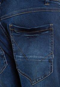Name it - NKMRYAN PANT  - Straight leg jeans - dark blue denim - 3