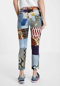Desigual - Slim fit jeans - blue - 2