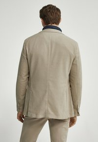 Massimo Dutti - SLIM FIT - Blazer jacket - beige - 1