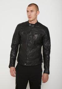 Be Edgy - BEANDY - Leather jacket - black - 0