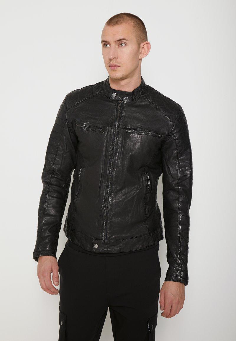 Be Edgy - BEANDY - Leather jacket - black