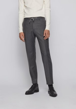 BARDON - Suit trousers - grey