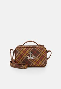 Vivienne Westwood - JOHANNA CAMERA BAG - Bolso de mano - brown - 1