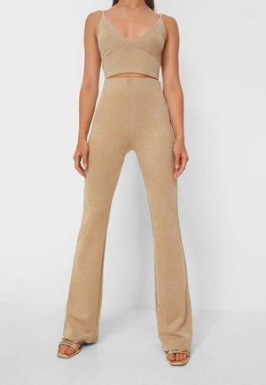 WEICHE - Kalhoty - beige