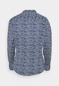 Springfield - Button-down blouse - medium blue - 1