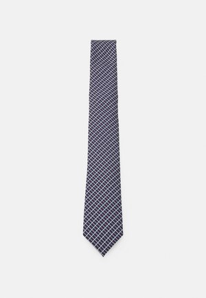 Tie - dark blue/bordeaux