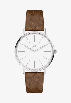 Watch - braun-silber