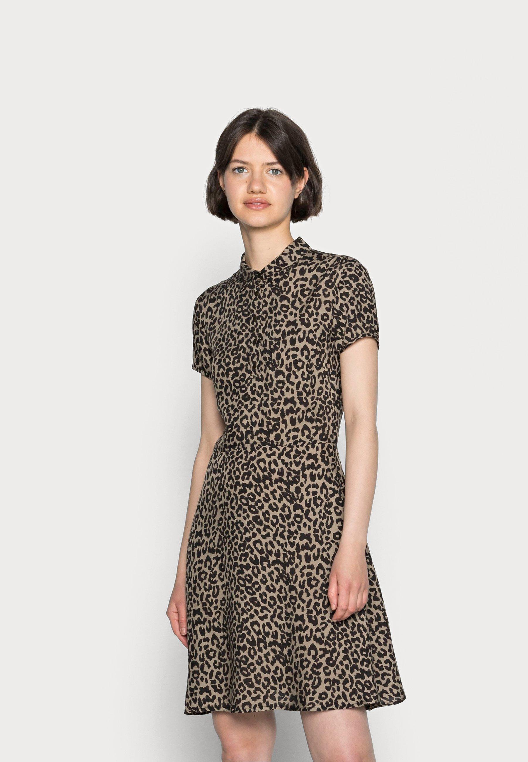 Mujer PRINTED DRESS - Vestido camisero