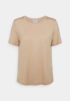 VMAVA - Jednoduché triko - beige