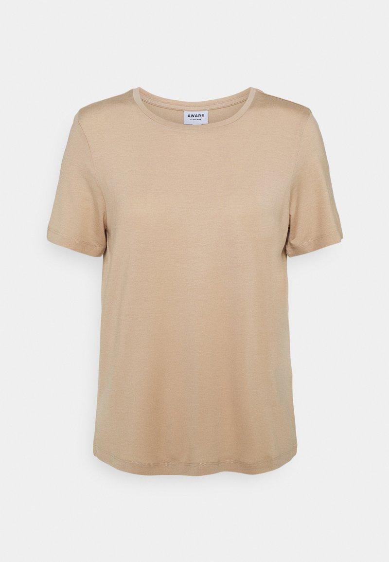 Vero Moda - VMAVA - Basic T-shirt - beige