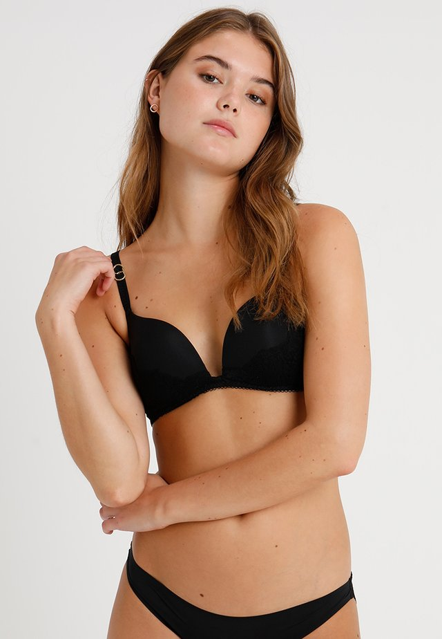 SMOOTH WIRELESS CONTOUR - Push-up bra - black