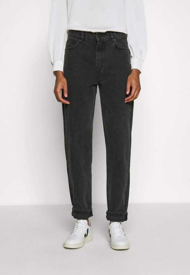 AIDEN - Flared Jeans - black