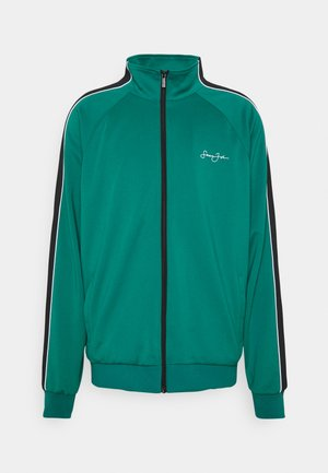 SCRIPT LOGO JACKET - Sportovní bunda - dark green