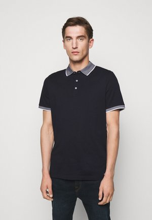 LOGO COLLAR  - Polo shirt - dark midnight