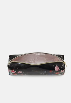 EVANNE SANDALWOOD BRUSH CASE - Wash bag - black