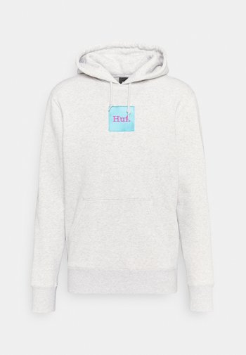 DOMESTIC BOX HOODIE - Sweatshirt - athletic heather