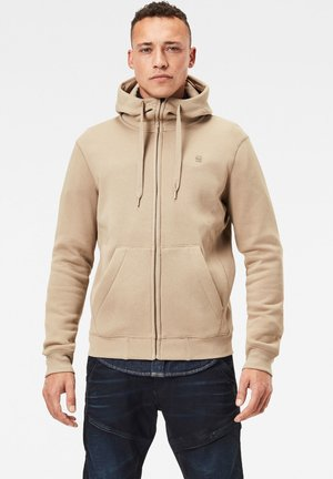 PREMIUM CORE HOODED ZIP LONG SLEEVE - Zip-up hoodie - lt rock