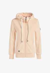 khujo - WANARI - Zip-up sweatshirt - apricot - 8