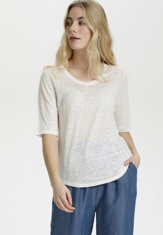 T-shirt basic - spring gardenia
