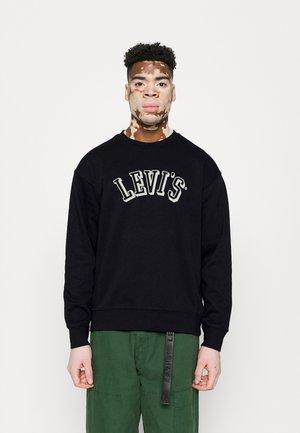 RELAXED CREW - Sweatshirt - varsity lime/mineral black