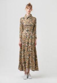 Touché Privé - FLOWER  - Maxi dress - brown - 0