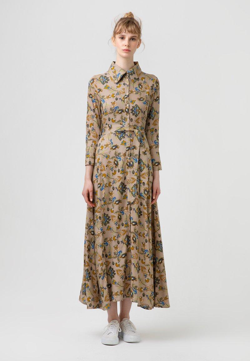 Touché Privé - FLOWER  - Maxi dress - brown