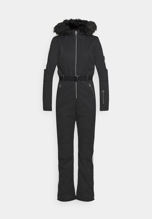 SNOWFALL SKI SUIT - Skibroek - black