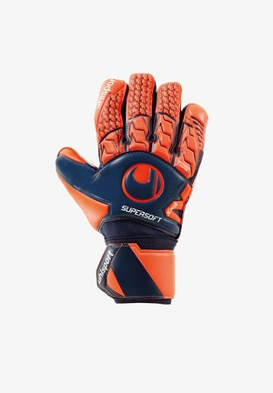 NEXT LEVEL SUPERSOFT HAND - Goalkeeping gloves - blaurot