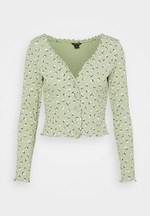 SANCY - Strickjacke - light green