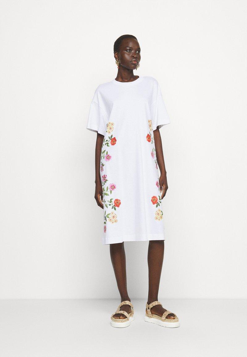 Vivetta - DRESS - Jersey dress - bianco ottico