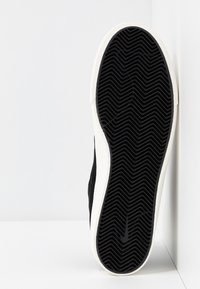 Nike SB - ZOOM JANOSKI MID CRAFTED - Korkeavartiset tennarit - black/pale ivory - 4
