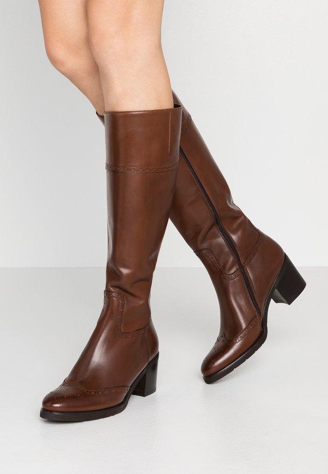 Stivali alti - tender marrone