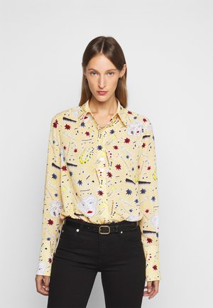 BUTTON DETAIL - Button-down blouse - multi coloured