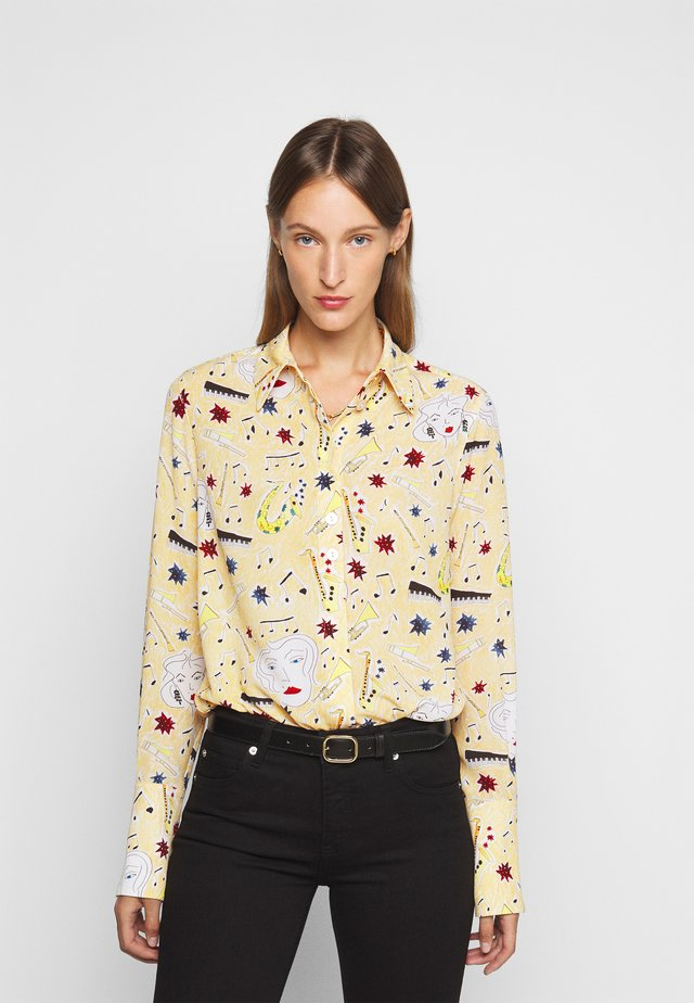 BUTTON DETAIL - Overhemdblouse - multi coloured