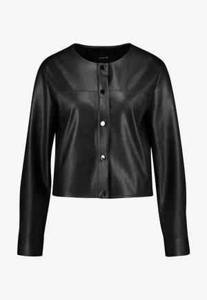 HILO - Faux leather jacket - black