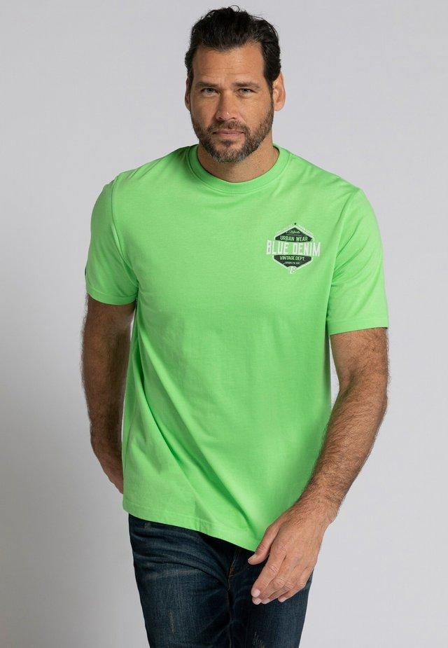 Print T-shirt - grass green