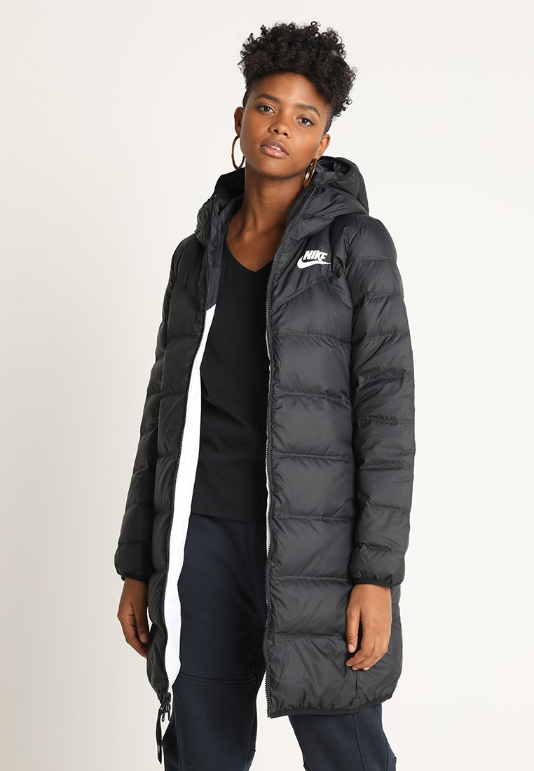 Nike Sportswear - Down coat - black/white